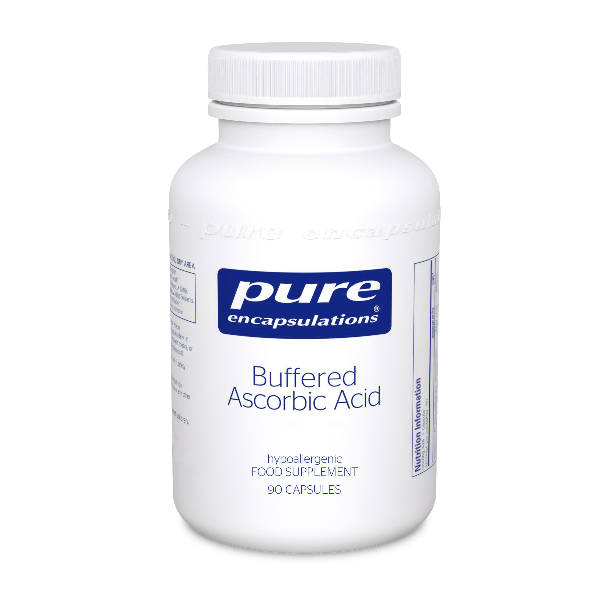 Buffered Ascorbic Acid 90caps (PureEncap)
