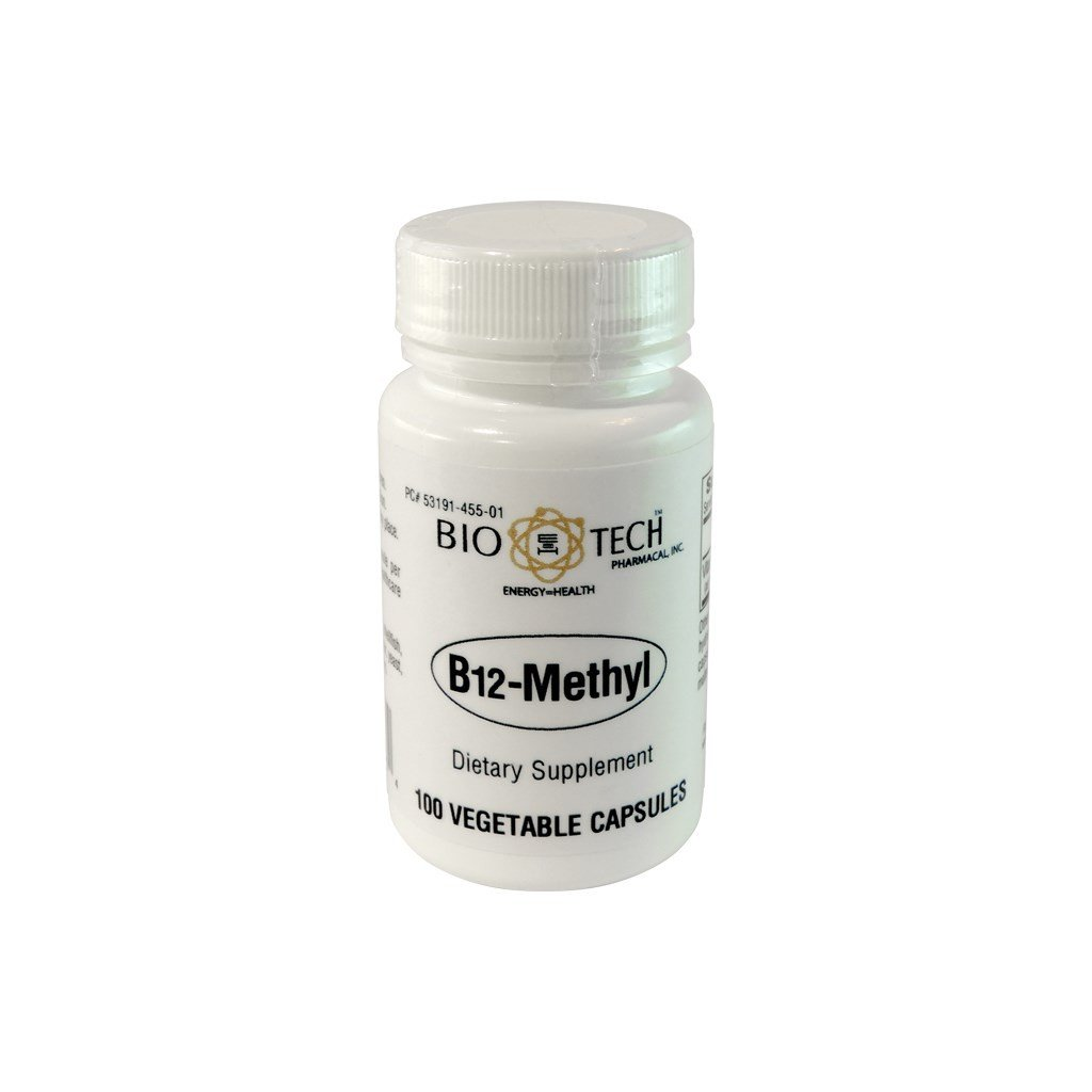 B-12 Methyl 1000mcg 100caps (BioTech)