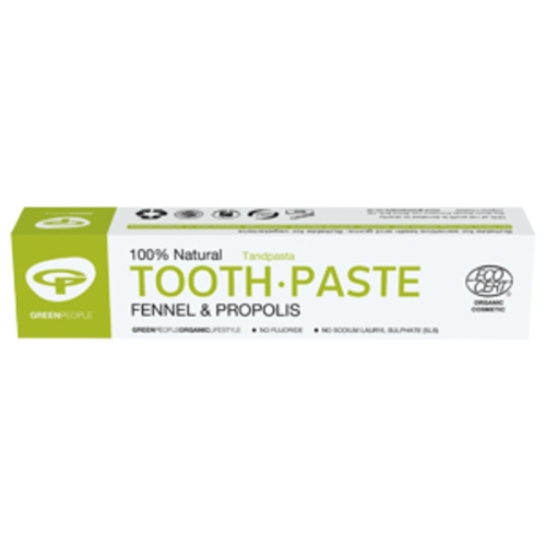 Fennel & Propolis Toothpaste 50ml (GreenPeople)