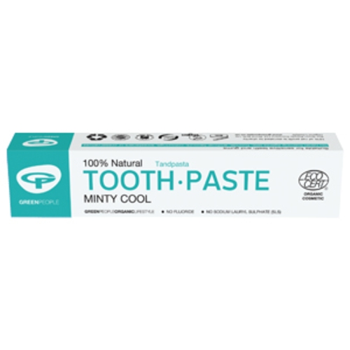 Minty Cool Toothpaste 50ml (GreenPeople)