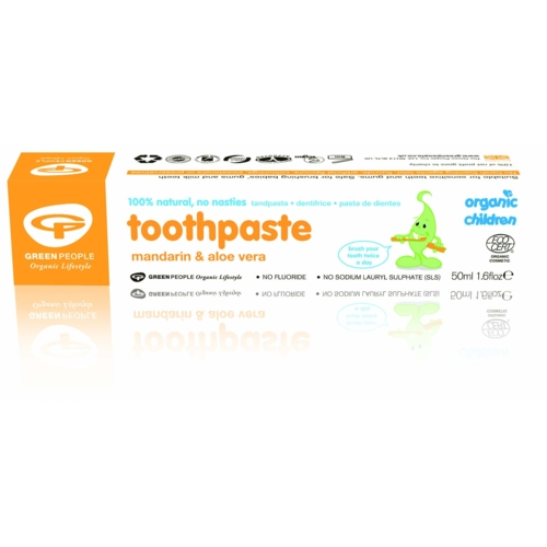 Organic Mandarin & Aloe Toothpaste 50ml (GreenPeople)