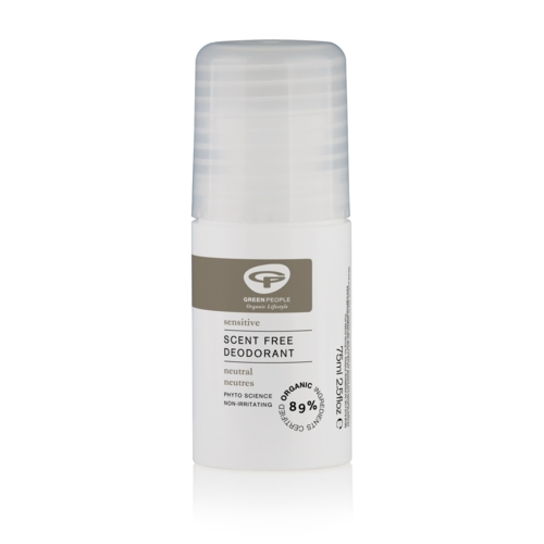 Neutral Scent Free Deodorant 75ml (GreenPeople)