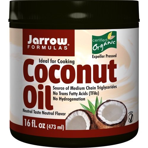 Coconut Oil (Organic) No Scent/No Flavour 473ml (Jarrow)
