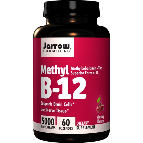 Methyl-B12 Methylcobalamin 5000mcg 60lozenges