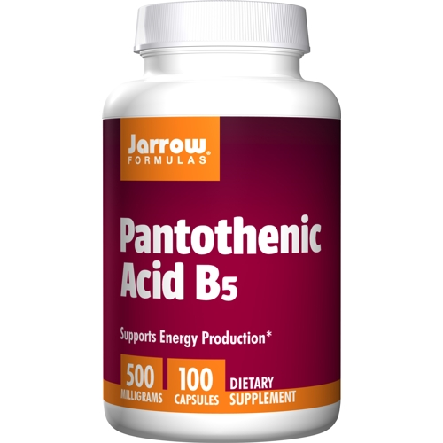 Pantothenic Acid B5 500mg 100caps