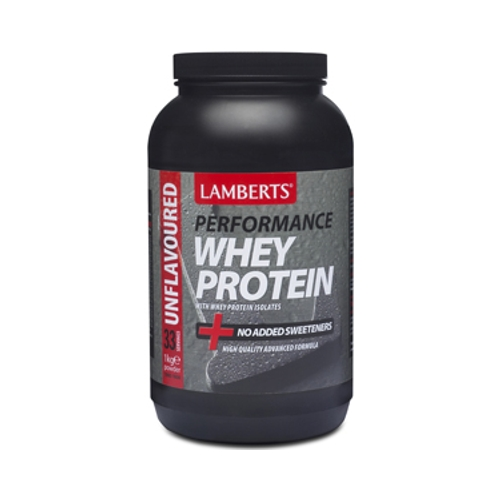 Unflavoured Whey Protein Powder 1kg (Lamberts)