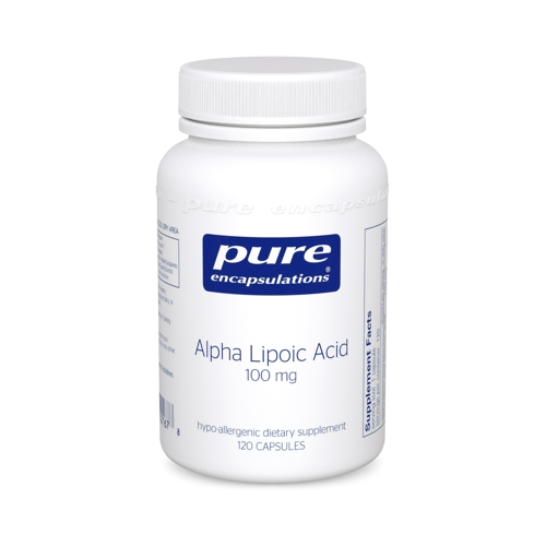 Alpha Lipoic Acid 100mg 120caps (PureEncap)