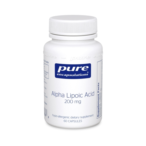 Alpha Lipoic Acid 200mg 60caps (PureEncap).