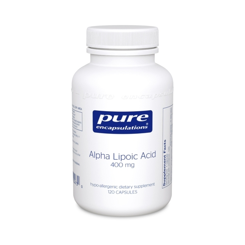 Alpha Lipoic Acid 400mg 120caps