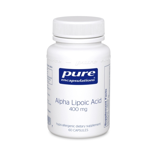 Alpha Lipoic Acid 400mg 60caps (PureEncap)