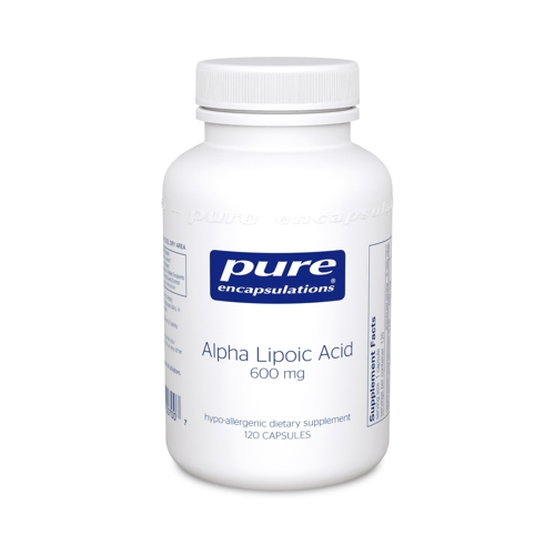 Alpha Lipoic Acid 600mg 120caps (PureEncap)