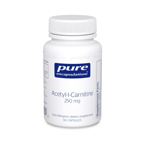 Acetyl-l-Carnitine 250mg 60caps (PureEncap)