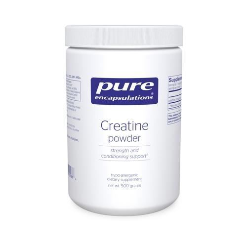 Creatine Powder (monohydrate) 500g (PureEncap)