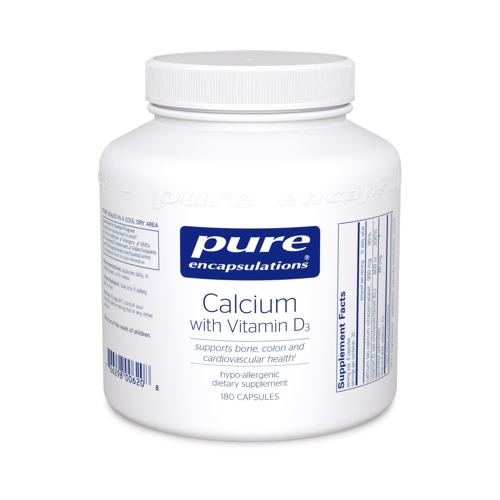Calcium with Vitamin D3 180caps