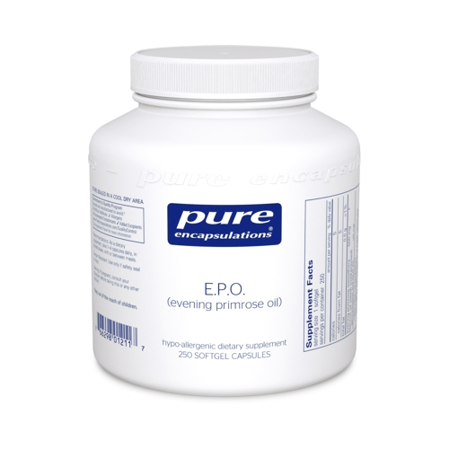 E.P.O. (evening Primrose Oil) 500mg 250caps (PureEncap)