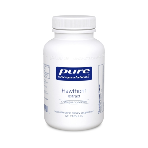 Hawthorne Extract 120caps (PureEncap)