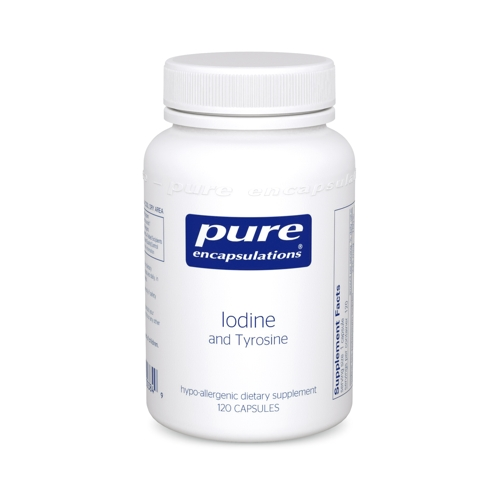 Iodine And Tyrosine 120caps (PureEncap)