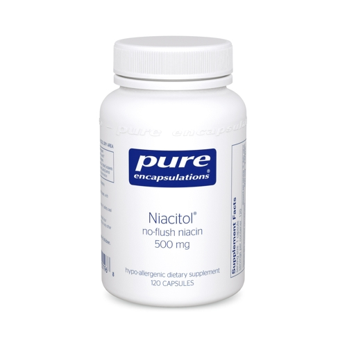 Niacitol no-flush niacin 500mg 120caps