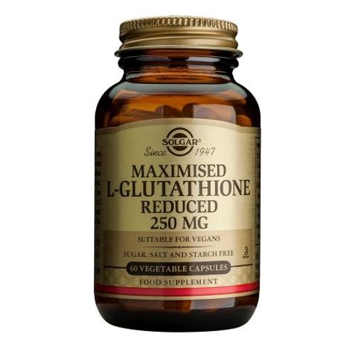 Maximised L-Glutathione Reduced 250mg 60caps (Solgar)