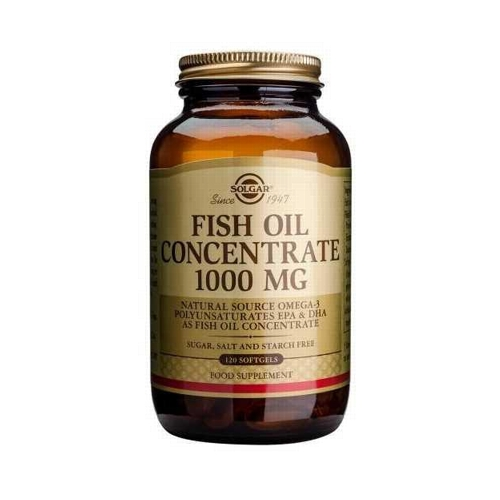 Fish Oil Concentrate 1000mg 120softgels