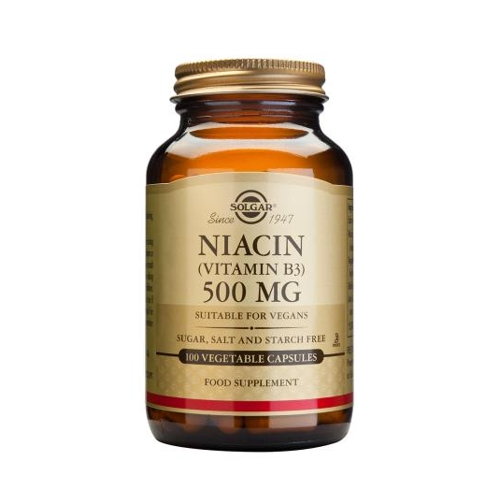 Niacin Vitamin B3 500mg 100caps