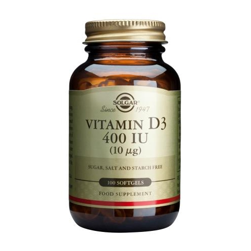 Vitamin D3 400iu 100softgels