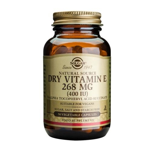 Dry Vitamin E 268mg 400iu 50caps