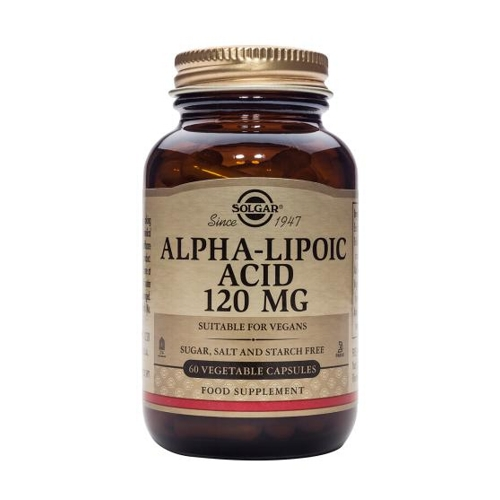 Alpha-Lipoic Acid 120mg 60caps