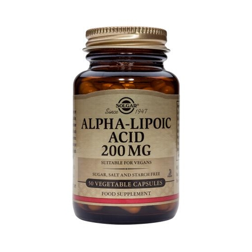 Alpha Lipoic Acid 200mg 50caps (Solgar)