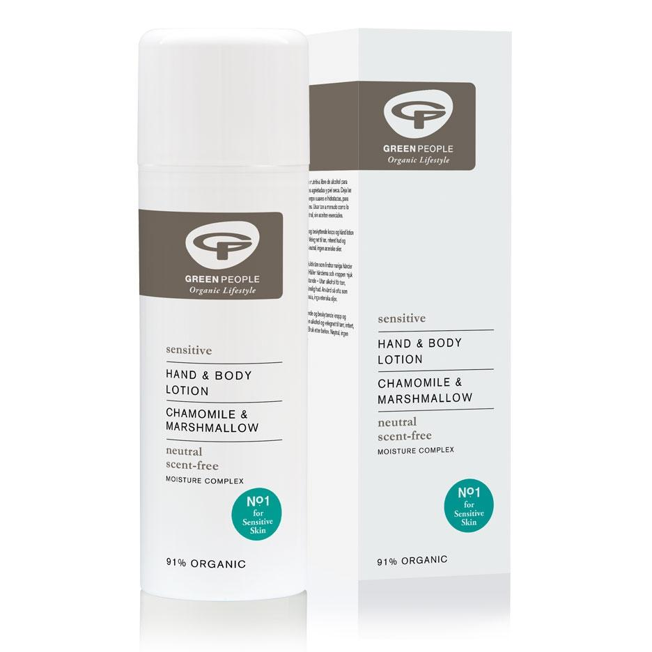 Neutral Scent Free Hand & Body Lotion 150ml (GreenPeople)