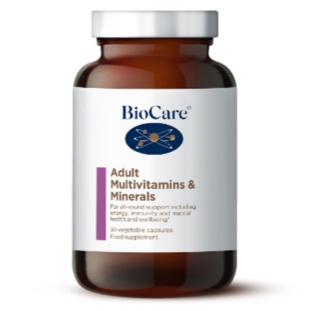 Adult Multivitamins & Minerals 90caps (BioCare)
